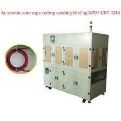 Automatic wire rope cutting winding binding WPM-CRT-02M