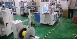 Hose cutting Coiling twist tie machine WPM-HCCT